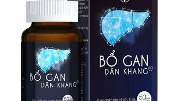 Thông tin sản phẩm Bổ Gan Dân Khang