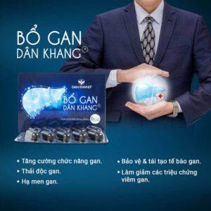 Công dụng của sản phẩm Bổ Gan Dân Khang