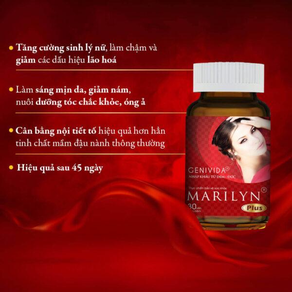 Công dụng của Viên uống Marlyn Plus