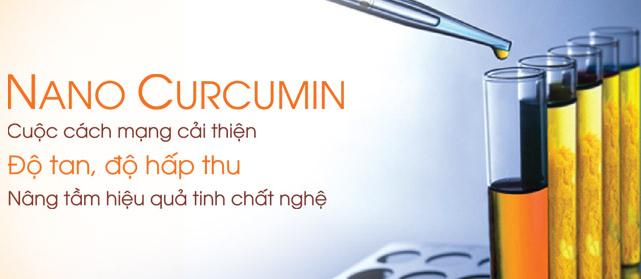 cải tiến Nano curcumin so với Curcumin