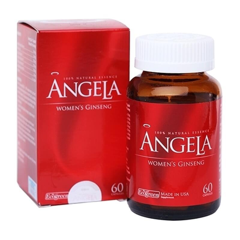 Sâm Angela Hỗ trợ cân bằng nội tiết tố và tăng cường sinh lý nữ trong cơ thể