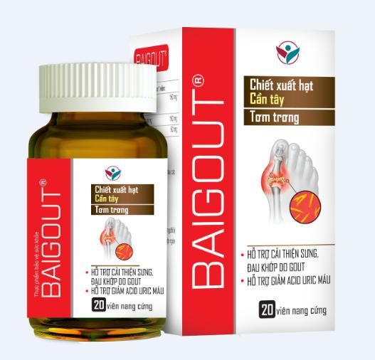 sản phẩm baigout được chiết xuất từ thiên nhiên