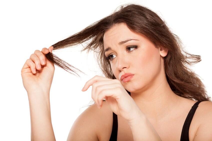 tóc xơ rối vấn đề thường gặp ở phụ nữ