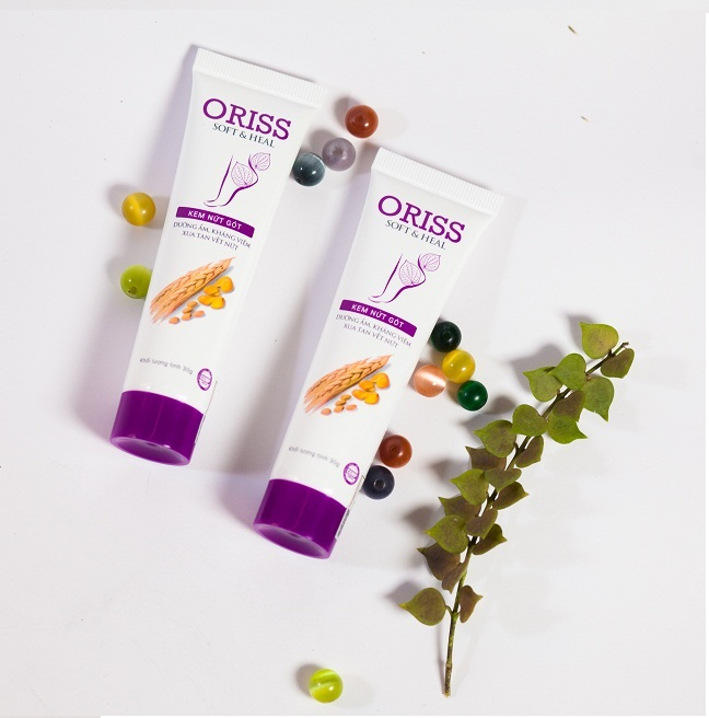 Kem nứt gót Oriss tái tạo, ngăn ngừa nứt nẻ trên da - Dân Khang Pharma