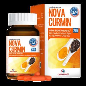 Viên uống Novacurmin làm giảm các triệu chứng trào ngược dạ dày hiệu quả