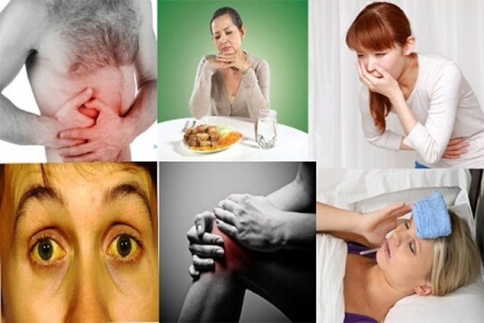 Các triệu chứng của men gan cao