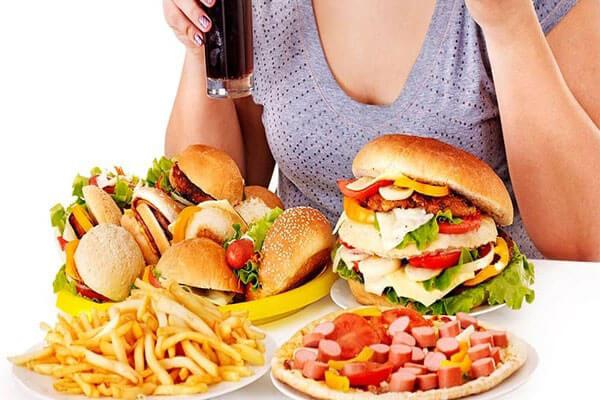 Chế độ dinh dưỡng không khoa học