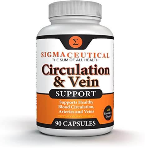 Viên uống Circulation & Vein Support bảo vệ hệ tuần hoàn và thành mạch