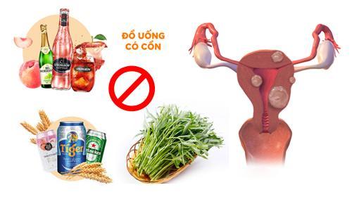Bị u xơ tử cung nên kiêng các phực phẩm để khối u không phát triển