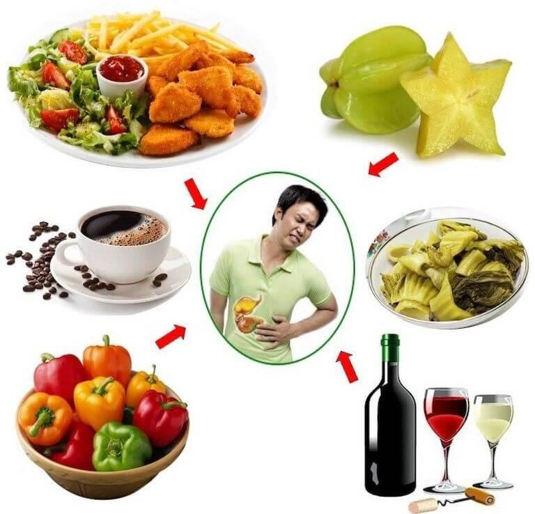 Các loại thức phẩm người bị đau dạ dày nên tránh xa