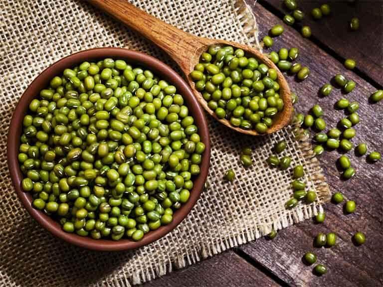 Đậu xanh giàu chất xơ giúp điều trị bênh gút tốt chữa bệnh gút bằng thuốc nam