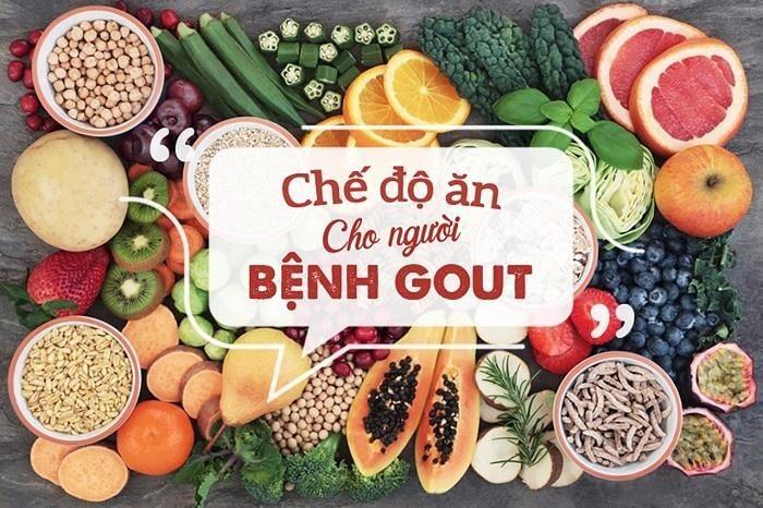 Sử dụng thuốc kết hợp với chế độ ăn uống khoa học giúp điều trị bệnh gout thành công