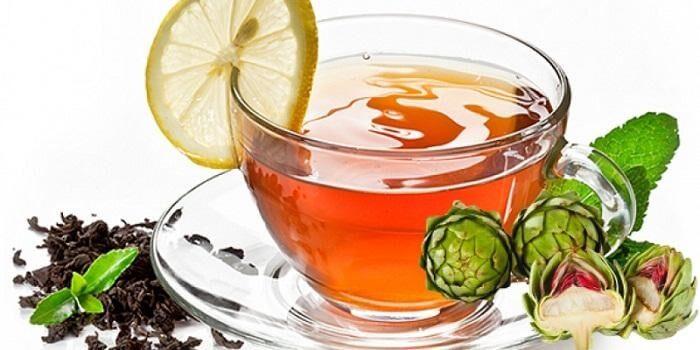 Thải độc gan hiệu quả nhờ trà atiso