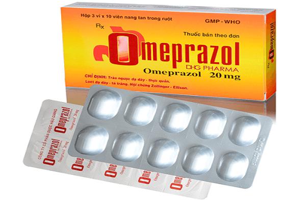 Thuốc Omeprazol DHG phù hợp cho người bị viêm loét dạ dày