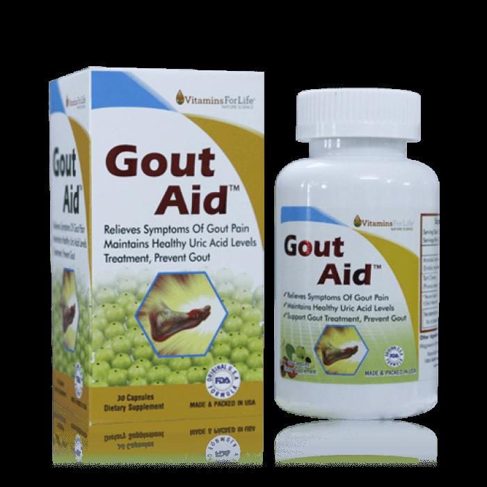 Thuốc trị bệnh gout Uric acid support