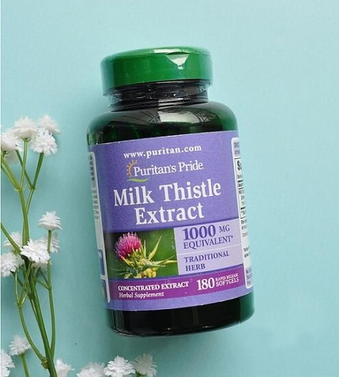 Thực phẩm bổ gan Thistle Extract