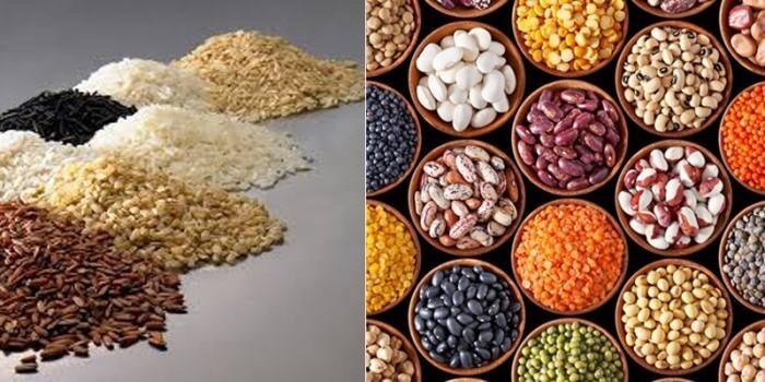 Các loại ngũ cốc nguyên hạt giàu biotin giúp nuôi dưỡng và chăm sóc tóc