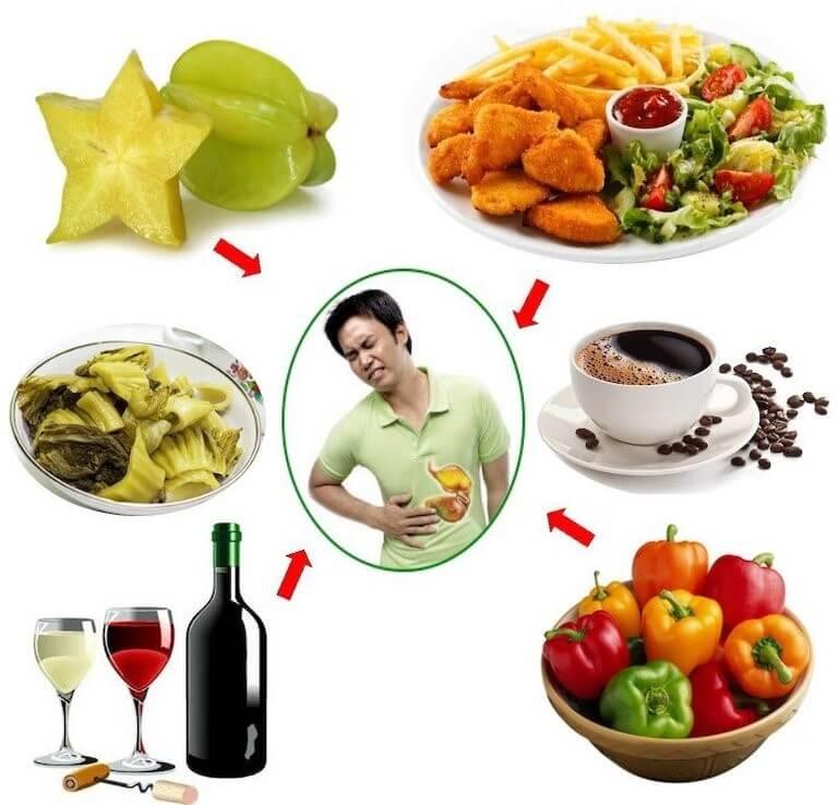 Các loại thực phẩm cần tránh để tình trạng bệnh không trở nên nghiêm trọng hơn