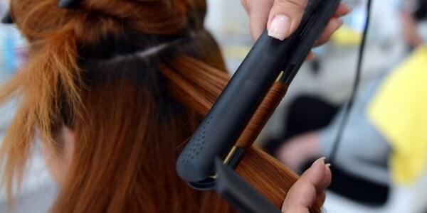 Hạn chế uốn nhuộm tóc để tóc mái tóc chắc khỏe