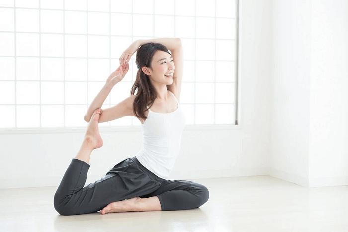 Luyện tập yoga giúp điều hòa kinh nguyệt hiệu quả