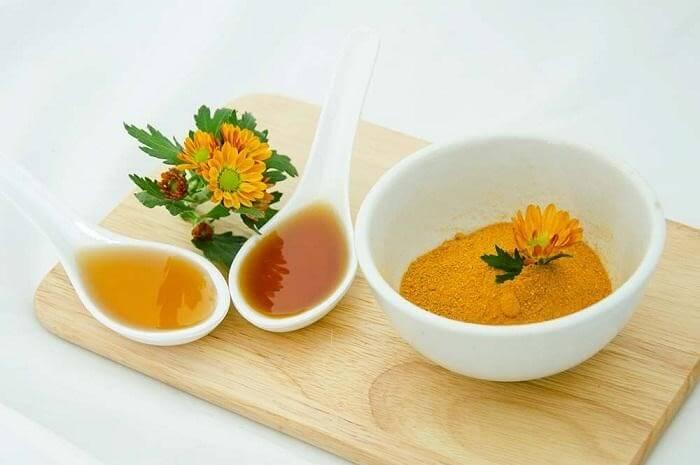 Nghệ mật ong chính là bài thuốc chữa trào ngược dạ dày hiệu quả