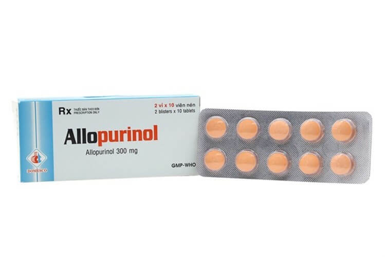 Allopurinol là thuốc điều trị bệnh gút mãn tính, chứng tăng acid uric