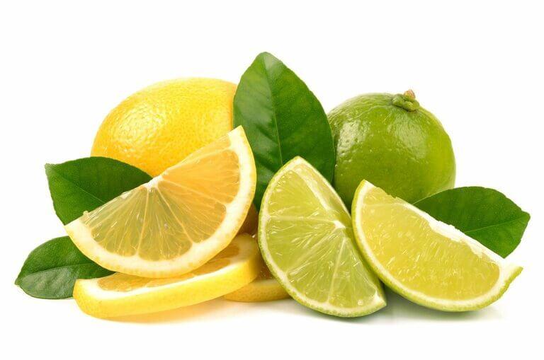 Chanh chứa nhiều vitamin C làm tăng sức đề kháng tốt