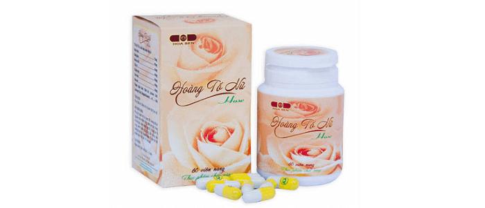 Hoàng Tố Nữ - sản phẩm chăm sóc sức khỏe từ thảo dược tự nhiên