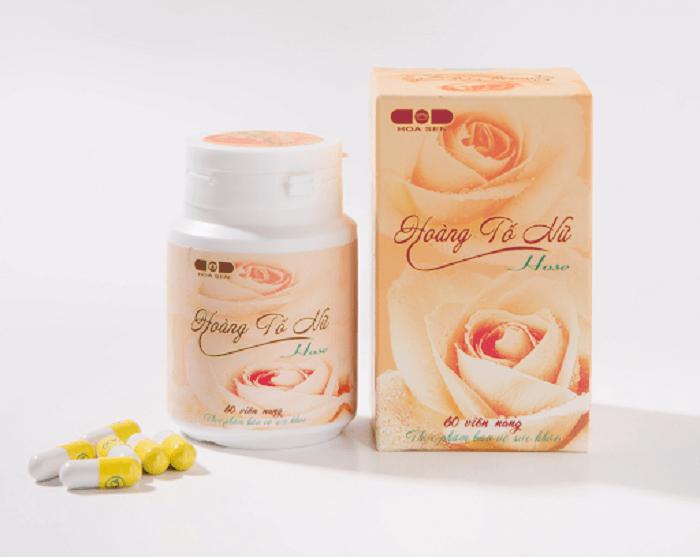 Hoàng tố nữ sản phẩm được chiết xuất từ dược liệu khiếm thực và các thảo dược quý