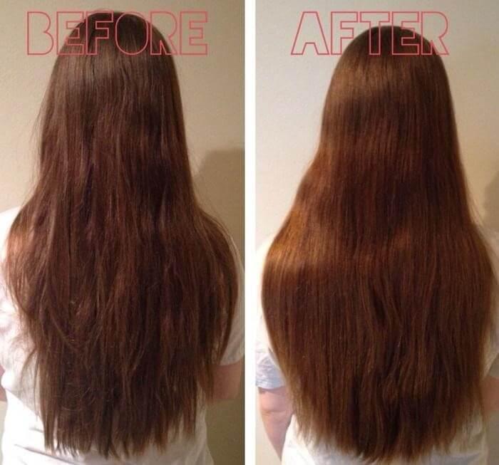 Keratin giúp nuôi dưỡng và phục hồi tóc hư tổn
