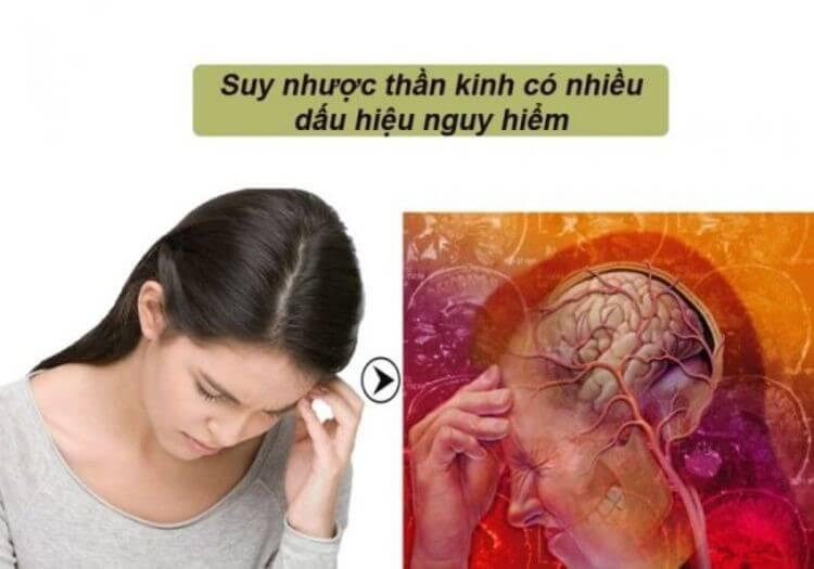 Suy nhược thần kinh xảy ra với nhiều dấu hiệu nguy hiểm đến sức khỏe