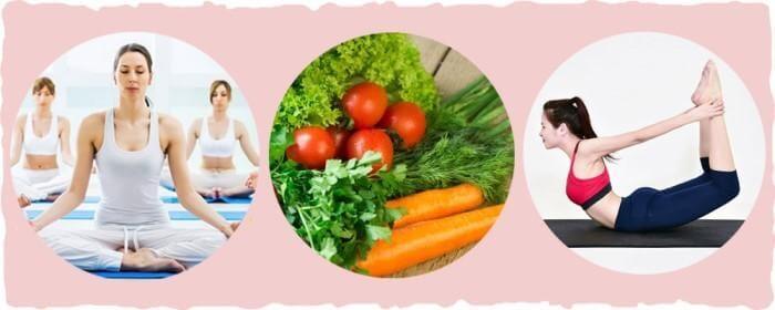 Tăng cường vận động nhẹ nhàng và bổ sung dưỡng chất cho cơ thể