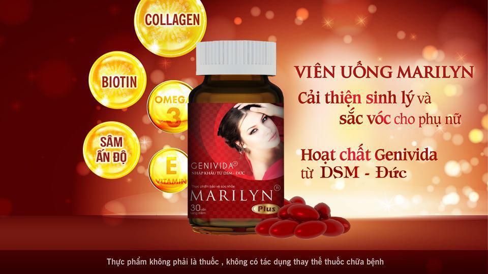 Công dụng nổi bật của viên uống Marilyn Plus