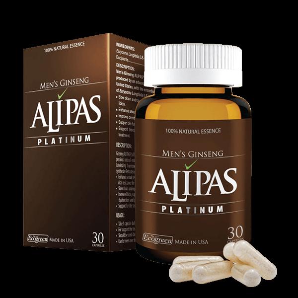 Sâm Alipas giúp tăng cường sinh lý nam hiệu quả