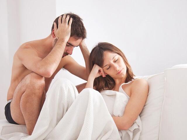 Tình trạng rối loạn cương dương làm ảnh hưởng đến đời sống hôn nhân vợ chồng