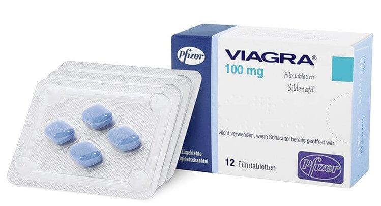 Viagra là loại thuốc chữa xuất tinh sớm phổ biến và được nhiều người tin dùng