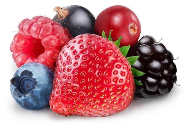 Bổ sung thêm nhiều loại quả mọng