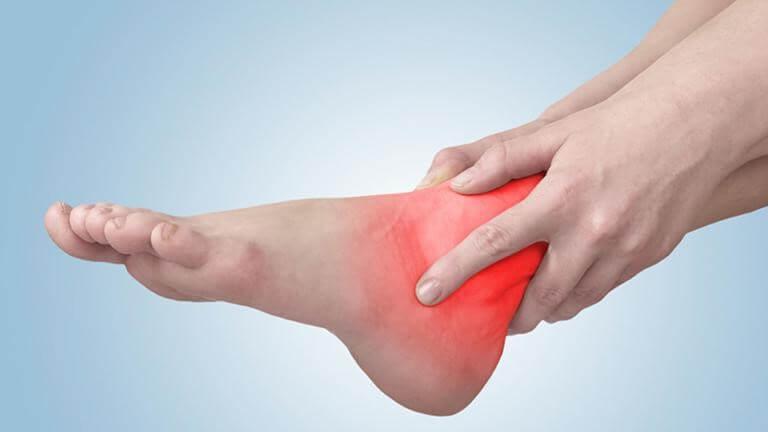 Các giai đoạn phát bệnh của viêm khớp cổ chân