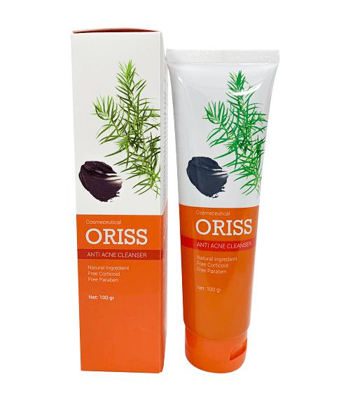 Hộp và tuýp sữa rửa mặt Oriss