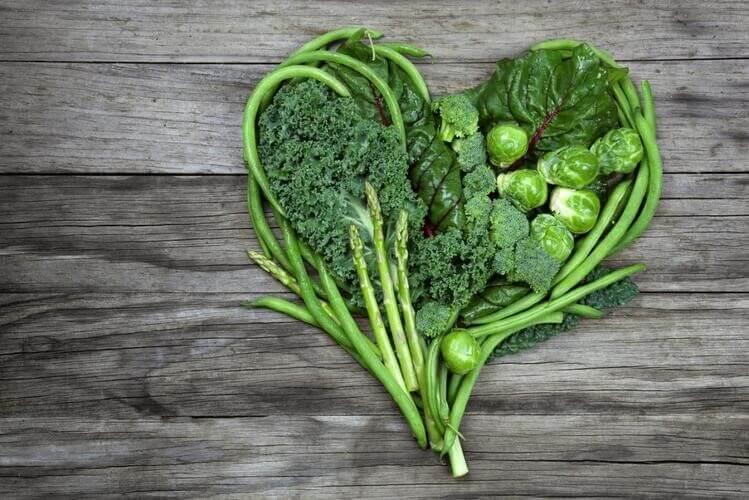 Rau xanh chứa nhiều chất xơ - một chất không thể thiếu cho một đường ruột khỏe mạnh