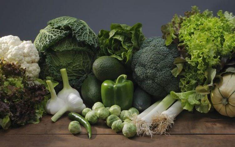 Các loại rau xanh tốt cho người bị rối loạn cương dương