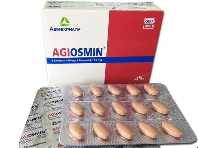 Thuốc trị bệnh trĩ Agiosmin
