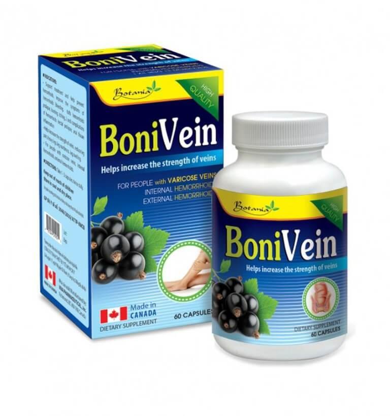 Viên uống trị bệnh trĩ BoniVein