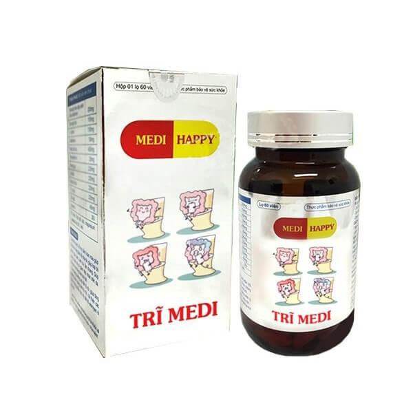 Viên uống hỗ trợ điều trị trĩ Medi Happy