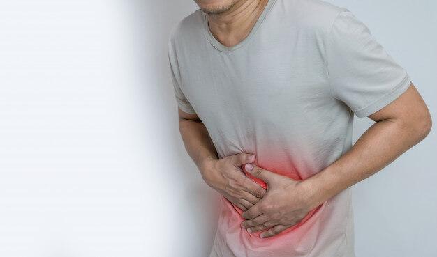 Tình trạng đau bụng khi co thắt đại tràng