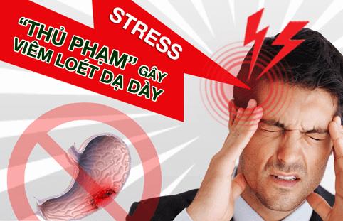 Stress cũng là 1 trong những nguyên nhân gây đau dạ dày