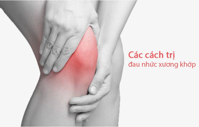 Các cách trị đau nhức xương khớp tại nhà