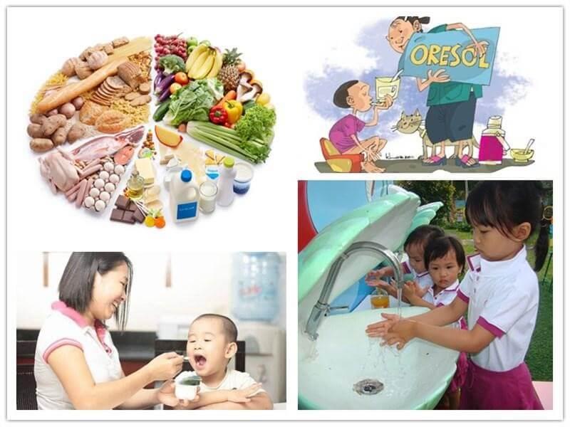 Chế độ ăn hợp lý, giữ gìn vệ sinh giúp phòng ngừa rối loạn tiêu hóa
