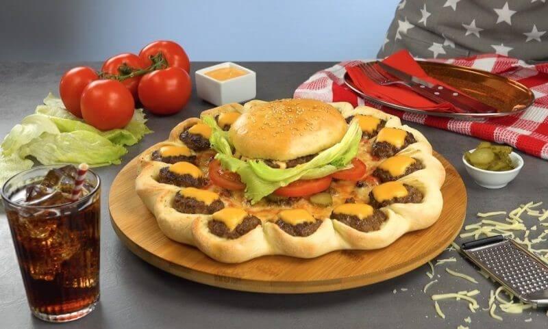 Hamburger và nước ngọt là món ăn khoái khẩu của trẻ