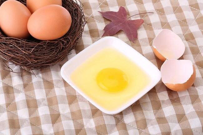 Lòng trắng trứng chứa nhiều protein